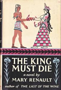 cover, Mary Renault, The King Must Die