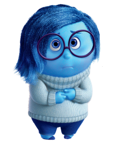 image of Sadness, from Inside Out