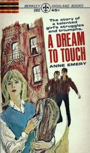 cover, Anne Emery, A Dream to Touch