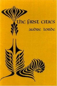 cover, Audre Lorde, The First Cities